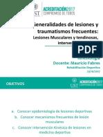Clase 2 Generalidades de Lesiones y Mecanismos Frecuentes