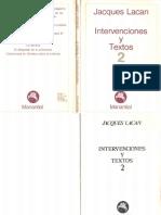 Intervenciones y textos 2-Jacques Lacan.pdf