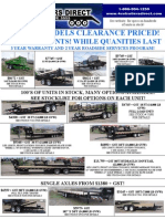 2010 Clearance New Pricing