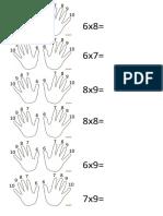 multiplicaciones tecnicas