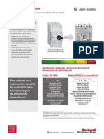 Soluciones de Migración - Disyuntor de Protección de Motores de 140-CMN a 140MG - MIGRAT-PP013A-ES-P – Julio de 2015