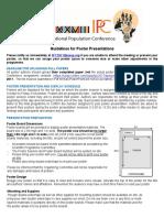 Guideline for Poster Presentations En