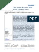Multidimensional Uses of Medicinal Plantkachnar Bauhinia Variegata Linn