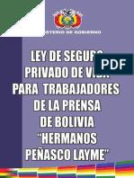 Ley 315 Ley de Seguro Privado de Vida Para Trabajadores de La Prensa