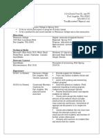 tina m robinson resume