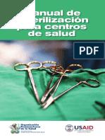 Manual Esterilizacion Centros Salud 2008 - OMS