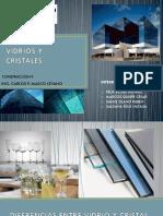 PRESENTACIÓN VIDRIOS Y CRISTALES GRUPO II.pptx
