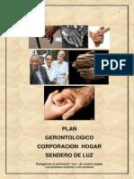 Plan Gerontologico Institucional  Hogar Sendero de Luz.pdf