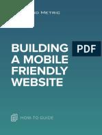 Building a Mobile Friendly Website