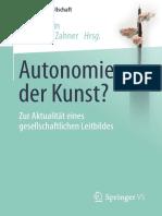 Autonomie Der Kunst
