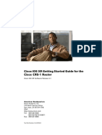 Cisco IOS XR Getting Started Guide for the Cisco CRS Router, Release 4.1
