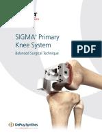 SIGMA Primary Knee System ST
