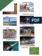 8 Disciplinas de Atletismo