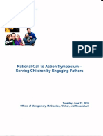 national call to action symposium serving children by engaging fathers program booklet