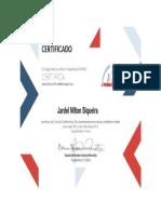 Certificado Grafotécnica e Documentoscopia