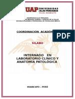 CARATULA  DE SILABO DE  LABORATORIO CLINICO.doc
