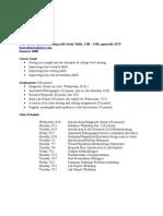 HCOP PE Syllabus