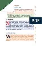 Practica Letra Capital y Wordart