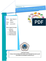 Cover Laporan Kimia Bahan Makanan.