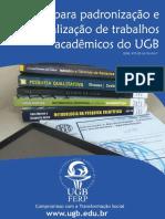 Manual Trabalhos Academicos UGB