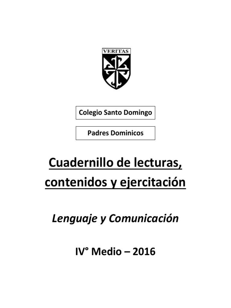 fc9e22271eec Cuadernillo-lectura-y-contenidos-2016-IV°-Medio