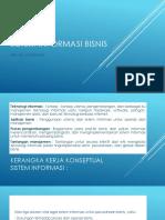 Dasar Sistem Informasi Bisnis