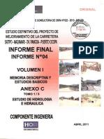 Volumen I, anexo C, Tomo 1-3, estudio de hidrología e hidraulica.pdf