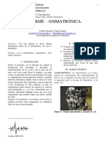 Informe Animatrónica-Cordero Jhonattan.a,Vargas S.johanna