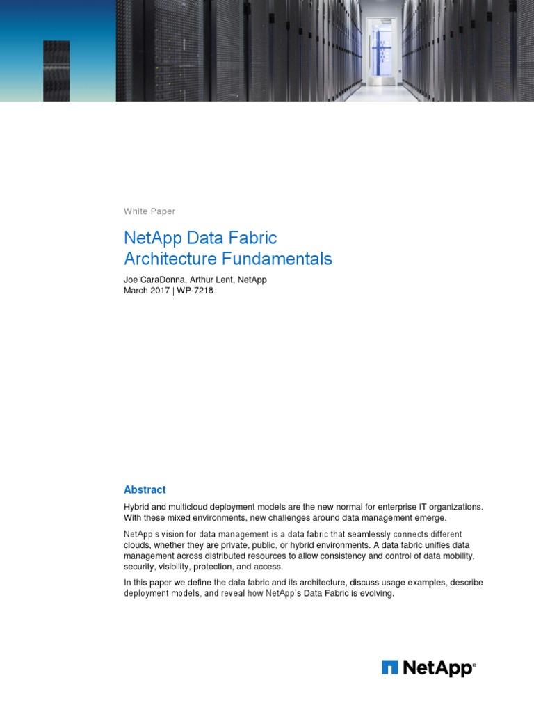 Netapp Data Fabric Architecture Fundamentals Software As A Service Wiring Diagram Cloud Computing