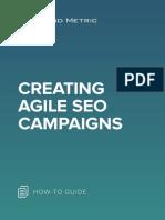 Creating Agile SEO Campaigns