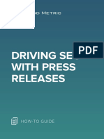 Driving SEO With Press Releases
