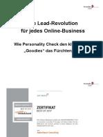 Die Lead-Revolution   für jedes Online-Business