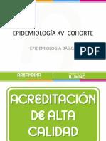 EPIDEMIOLOGÍA BÁSICA XVI 1ª CLASE