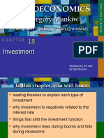 Mankiw Chapter 18 Investment