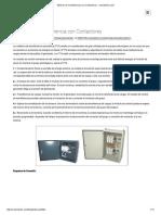 Tableros de Transferencia Con Contactores - Cramelectro.com