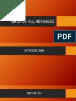 Expo Grupo Vulnerables