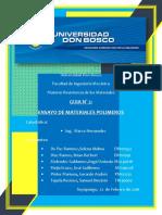 Ensayos de Probetas de Materiales Polímeros1