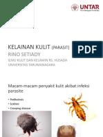 Infeksi Parasit Pada Kulit