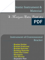 Orthodontic Instrument & Material1