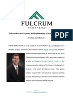 Monte Harrick Joins Fulcrum Partners Los Angeles July 2017