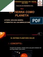 La Tierra Como Planeta