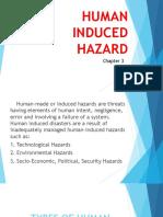 Human Induced Hazard