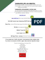 prek apps and websites