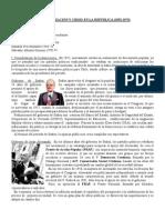 DEMOCRATIZACIÓN Y CRISIS DE LA REPÚBLICA