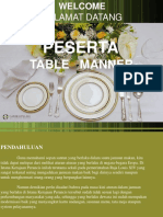 Table Manner 12 June 2014