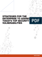 Strategies to Address Security Vulnerabilities