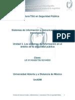 Unidad 3. Los Sistemas de Informacion en El Ambito de La Seguridad