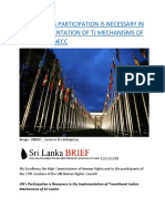 REPORT  UN'S PARTICIPATION IS NECESSARY IN THE IMPLEMENTATION OF TJ MECHANISMS OF SRI-LANKA – NECC.docx