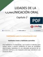 Capítulo 2 - Habilidades de Comunicación Oral(3)