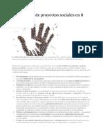 Elaboración de Proyectos Sociales en 8 Claves
